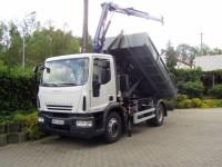 Eurocargo - nosič kontejnerů s hydraulickou rukou