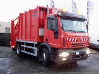 IVECO s nástavbou pro svoz komunálního odpadu